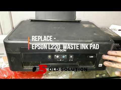 Change waste ink pad Epson - L220