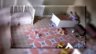 A Toddler RESCUES His Crushed Twin Brother! | What's Trending Now!
