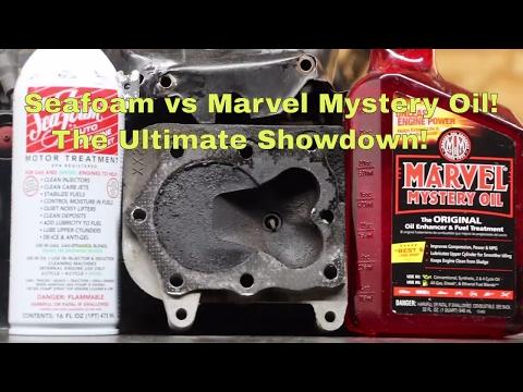 Seafoam vs Marvel Mystery Oil!  The Ultimate Showdown!