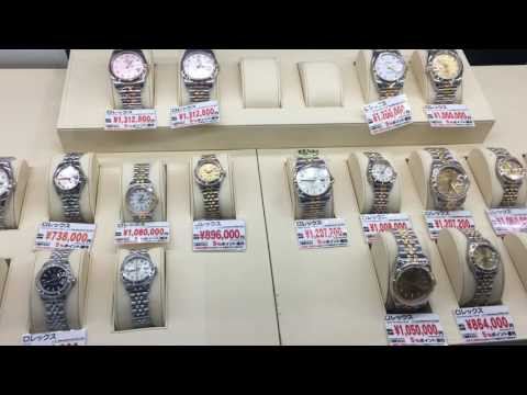 Rolex watches at Yodobashi
