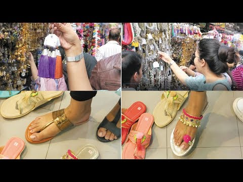 Esplanade kolkata shopping vlog..lots of jewelry and footwear..INDIANGIRLCHANNEL TRISHA