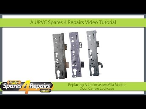 Replacing A Center Lockcase on a Lockmaster / Mila Master Upvc Door Gearbox