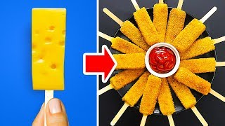 34 DELICIOUS FOOD HACKS WITH CHEESE AND OTHER GOODIES