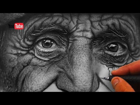 How to draw Realistic Skin Texture & Pores