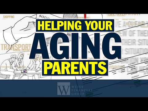 Eldercare | A Financial Checklist for Helping Your Aging Parents | Scott Weiss CFP | #weissguys