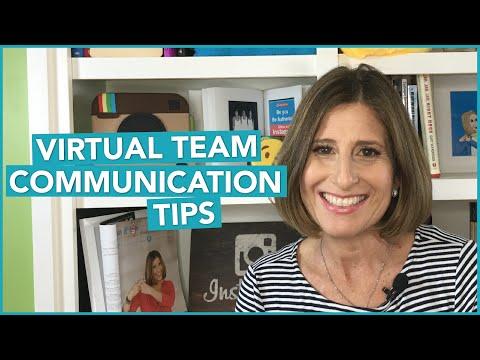 Virtual Team Communication Tips