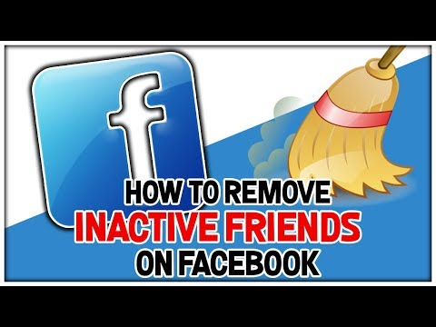 How To Remove Inactive Friends On Facebook - Remove Inactive Facebook Friends Fast