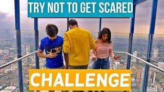 Try not to get Scared Challenge | Rimorav Vlogs