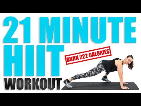 21 Minute HIIT Workout
