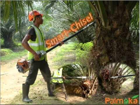 Mechanised Oil Palm Cutter. SmartCut
