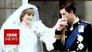 Remember the previous royal weddings? - BBC News