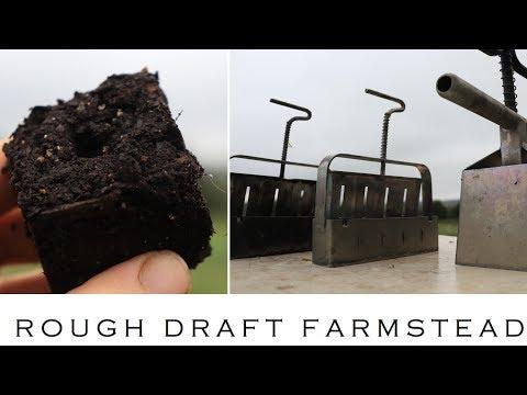 HOW TO MAKE SOIL BLOCKS.
