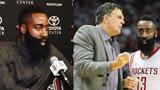 James Harden FIRES BACK at Kevin McHale for Saying He