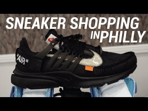 EARLY OFF WHITE SNEAKERS & SNEAKER SHOPPING IN PHILLY!