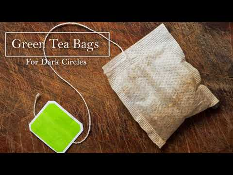 How To Get Rid Of Dark Circles | DIY Green Tea Bags Home Remedy | The Health And Care