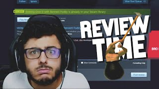 ROASTING GETTING OVER IT ON REVIEW | FUNNIEST MOMENT #2 | Carryminati Getting Over It