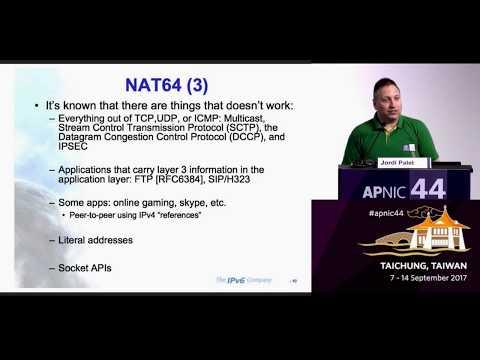 APNIC44 - IPv6 for Mobile Networks Tutorial