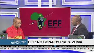 There will be no SONA on Thursday - EFF