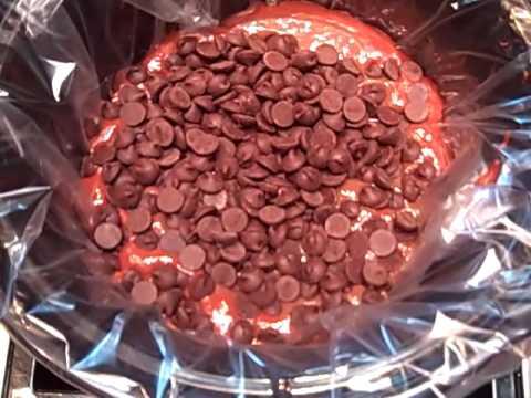 Chocolate Lava Cake a la Crock Pot