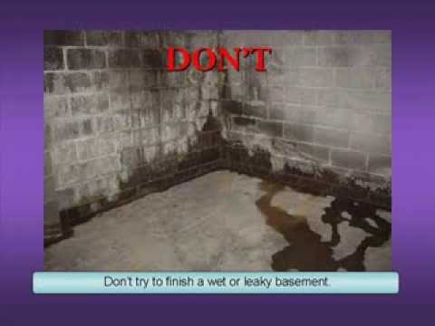 Basement Wall Finishing Do's and Don'ts