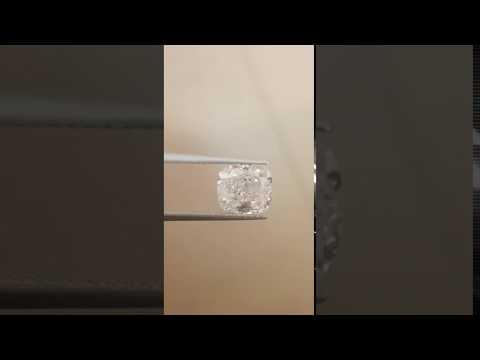 Clarity Enhanced Cushion natural diamond 2.27 F SI3 Diamonds-USA Diamonds-USA.com