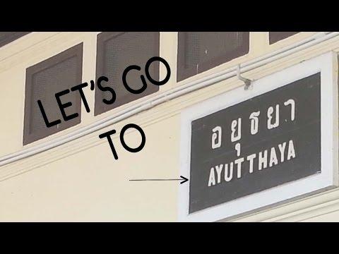 ¢0.56 USD FARE BKK-AYUTTHAYA | How to get to Ayutthaya from BKK via train
