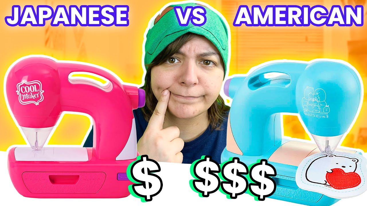 Which is WORSE? Cash OR Trash? Testing 2 Threadless Felt Sewing Machines Amazon