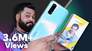 realme 7 Unboxing And First Impressions⚡⚡⚡MediaTek Helio G95, 90Hz Display, 64MP Quad Cameras \u0026 More