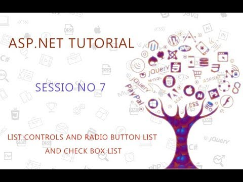 ASP.NET SESSION NO 7 LIST CONTROLS AND RADIO BUTTON LIST AND CHECK BOX LIST