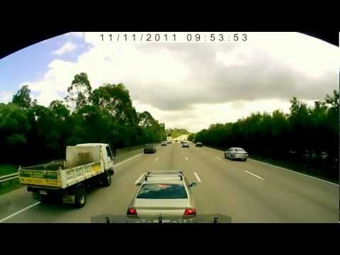 Car- Dangerous Driving Queensland. OnSiteCameras.com