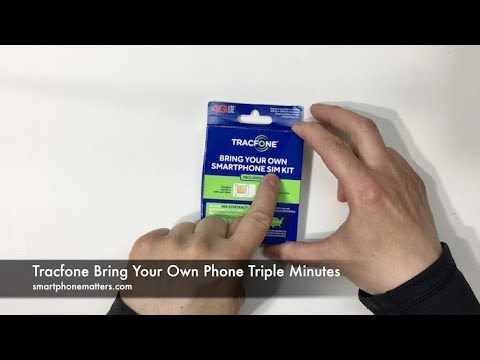 Tracfone Bring Your Own Phone Triple Minutes