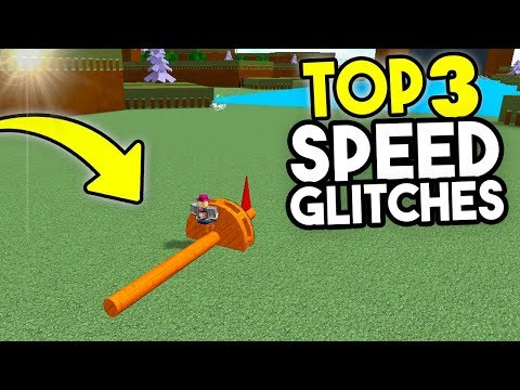 Top 3 SPEED GLITCHES!   Build A Boat For Treasure ROBLOX
