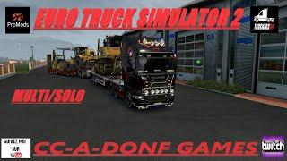 🚛Euro Truck Simulator 2🚚🔴#LIVE#Multi[FR]#promods 2.45 ISTANBUL ITALIE avec le coupain💪💪💪💪💪