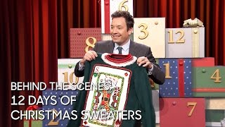 Behind the Scenes: 12 Days of Christmas Sweaters