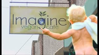 Baby Shows BUTTHOLE to Diners At Vegan Cafe | What