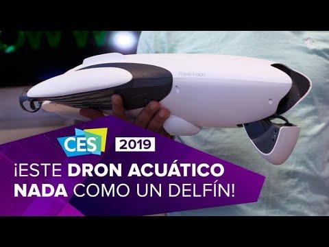 PowerDolphin: Un dron que nada como un delfín