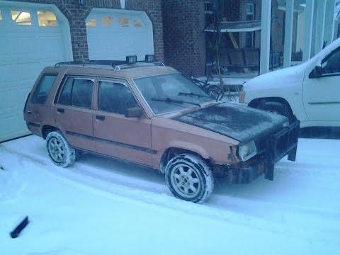 Tercel wagon snow drifting 2015