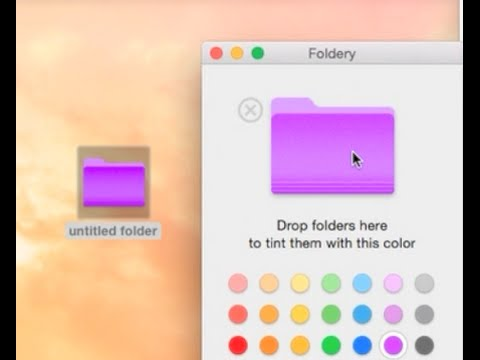 How to Change Folder Color on OS X