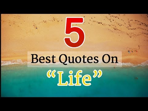 Are You Feeling Depressed? Watch these 5 Inspirational Quotes on Life | Life Quotes - RelishQuotes
