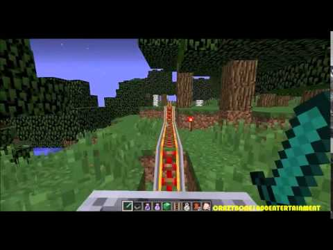 The Longest Minecart Track in Minecraft?