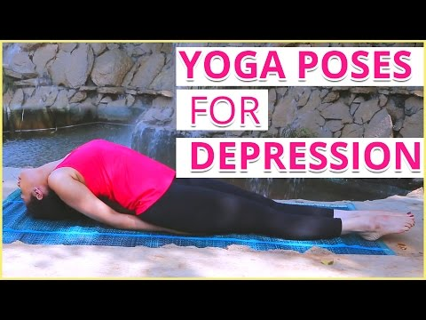 6 BEST YOGA POSES FOR DEPRESSION & ANXIETY, STRESS