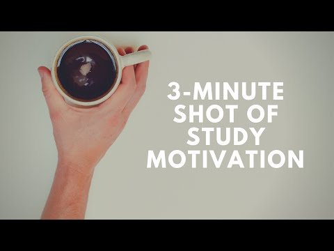 Get Motivated To Study Productively NOW! [A shot of motivation]
