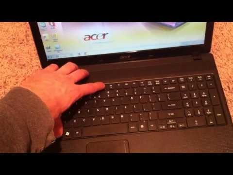 Acer Aspire Factory Restore reinstall Windows (5349 5517 4520 5253 5532 5251 5253 5536 E5 E 15 reset