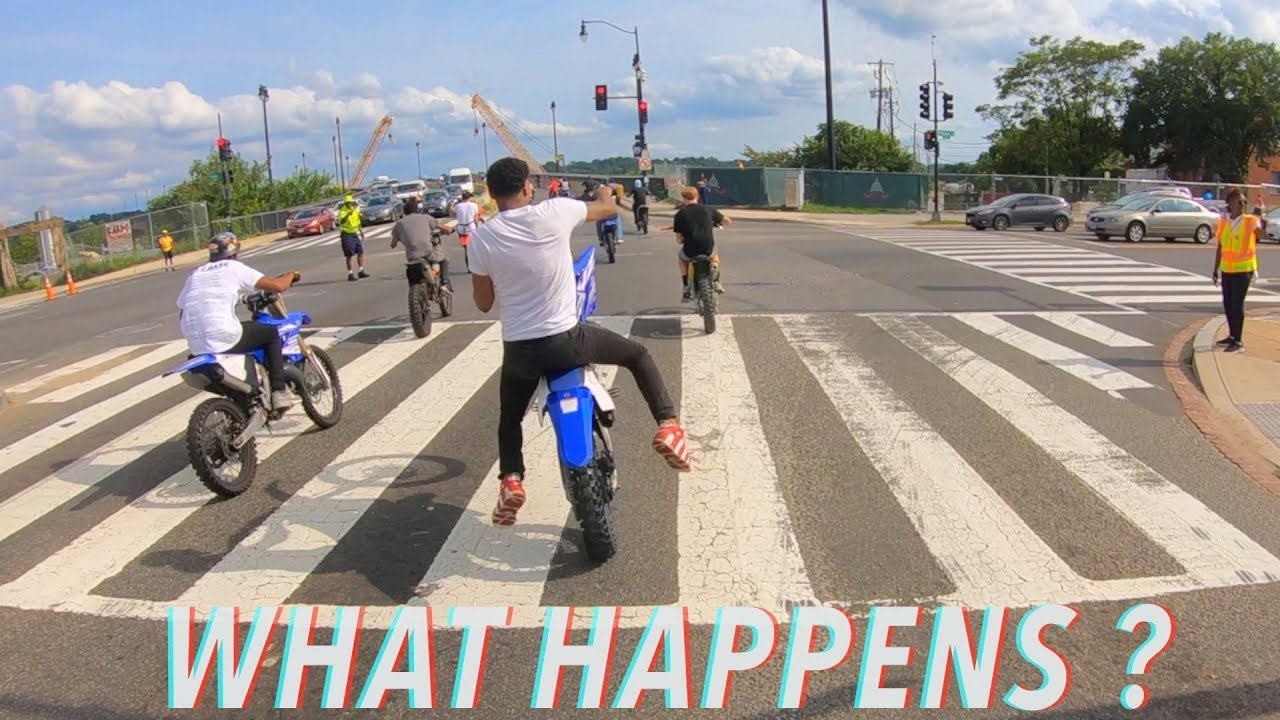 DOES BOOGIE LOSE CONTROL OF THE YZ125 ?!   BRAAP VLOGS
