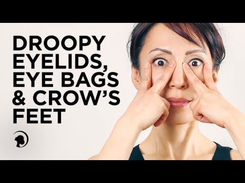 Reduce Droopy Eyelids, Bags & Crow's Feet with my