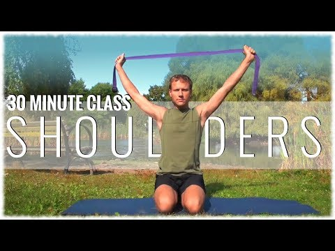 Hatha Yoga with David Procyshyn: A 30-Minute Class for the Shoulders