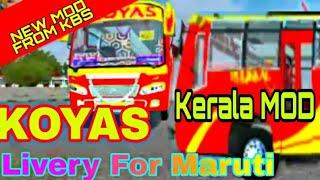 Bussid Kerala mod | Bussid Indian mod | Bus simulator Indonesia Maruti Mod  - PlayKindle org