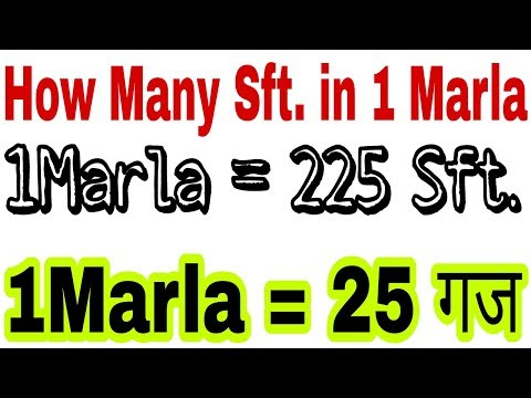 How many Square feet in 1Marla, How many Square yard in 1 Marla