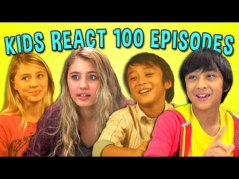 KIDS REACT 100TH EPISODE SPECIAL