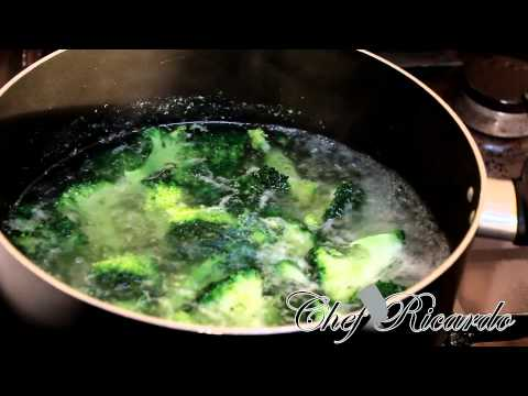 How To Cook Broccoli At Home | Recipes By Chef Ricardo